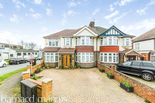 Thumbnail Semi-detached house for sale in Kingston Road, Ewell, Epsom