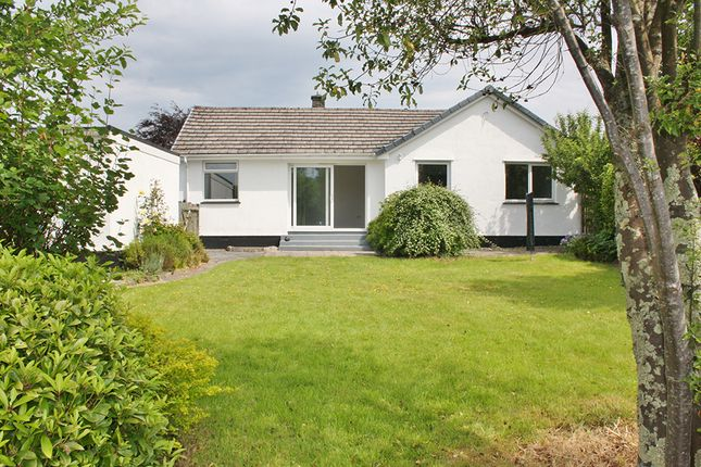 Thumbnail Detached bungalow to rent in Chaucer Road, Tavistock