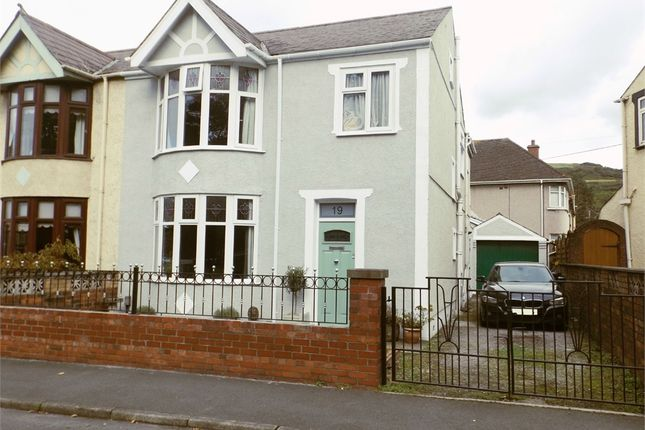 Thumbnail Semi-detached house for sale in Beechwood Road, Margam, Port Talbot, West Glamorgan