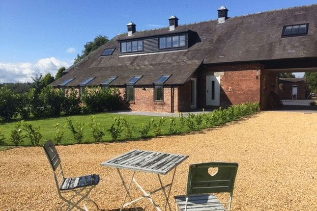 Thumbnail Barn conversion for sale in Bluebell Barn, Caverswall Lane, Caverswall