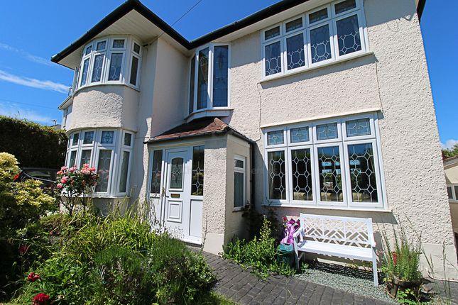 Thumbnail Detached house for sale in West Cross Lane, Swansea