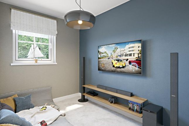 """Media Room of """"Woodcroft"""" at Glynn Road, Peacehaven BN10"""