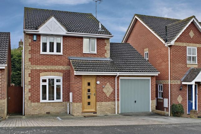 Thumbnail Detached house for sale in Jersey Close, Kennington, Ashford