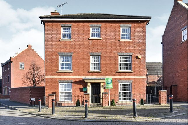 Thumbnail Detached house for sale in Forest School Street, Rolleston-On-Dove, Burton-On-Trent