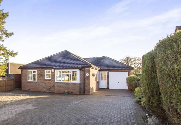 Thumbnail Bungalow for sale in Fosse Close, Enderby, Leicester, Leicestershire