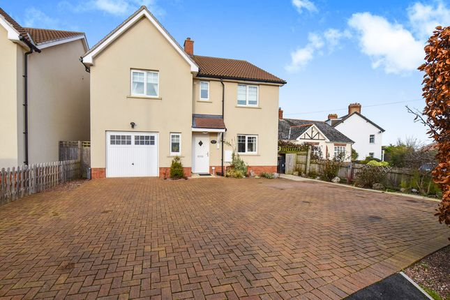 Thumbnail Detached house for sale in Stonegallows, Taunton