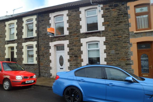 Thumbnail Terraced house to rent in Brondeg Street, Tylorstown