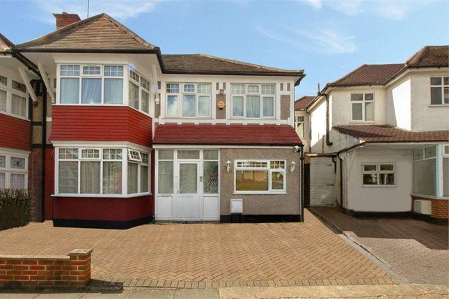 Thumbnail Semi-detached house for sale in Sedgecombe Avenue, Kenton, Harrow