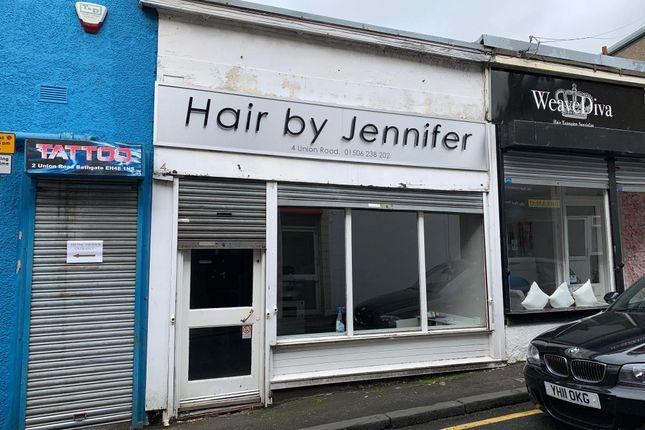 Thumbnail Retail premises to let in Union Road, Bathgate