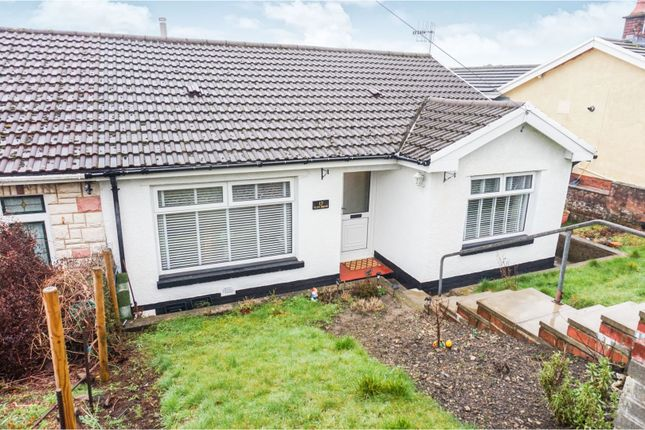 Thumbnail Semi-detached bungalow for sale in Glenbrook, Mountain Ash