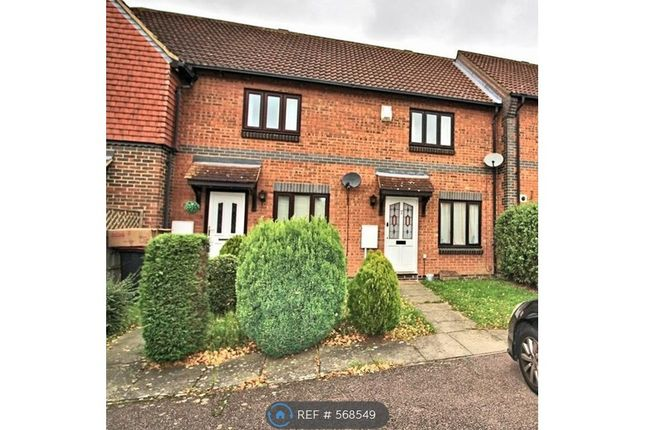 Thumbnail Terraced house to rent in Aldenham Close, Bedford