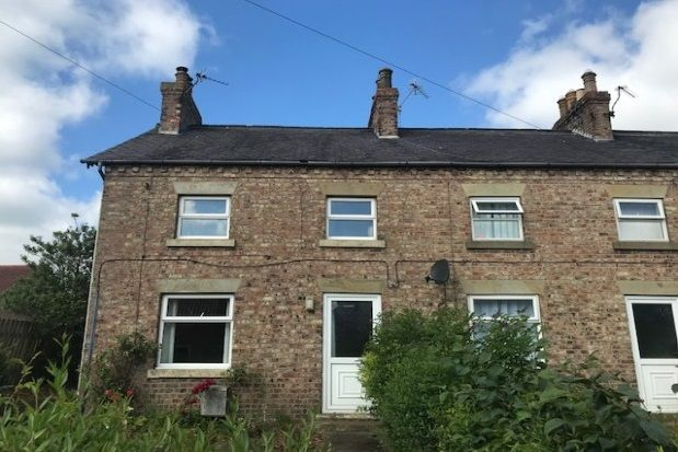 Thumbnail End terrace house to rent in High Row, Kirby Misperton, Malton