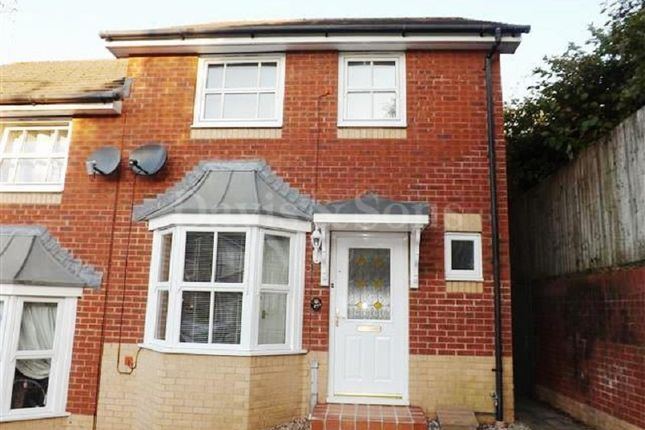 Thumbnail Semi-detached house to rent in Oak Tree Drive, Rogerstone, Newport.