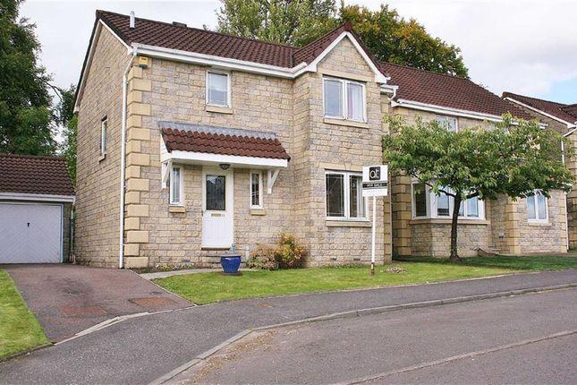 Thumbnail Detached house for sale in Bonnymuir Crescent, Bonnybridge, Stirlingshire