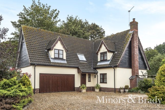 Thumbnail Detached house for sale in York Villa Close, Filby, Great Yarmouth