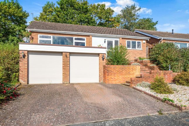 Thumbnail Detached bungalow for sale in Berwick Close, Warwick