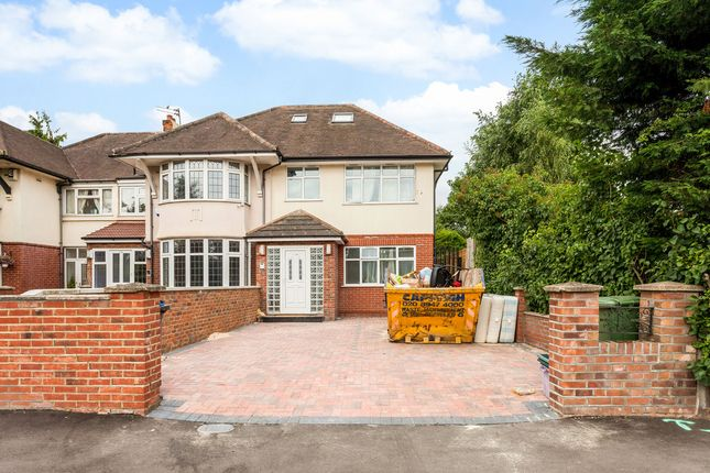 Thumbnail Semi-detached house for sale in Robin Hood Way, Kingston Vale, London