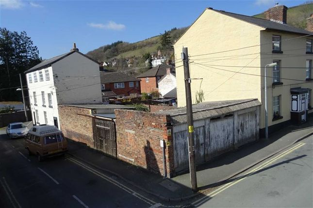 Thumbnail Property for sale in Garages And Yard, Crescent Street, Crescent Street, Newtown, Powys