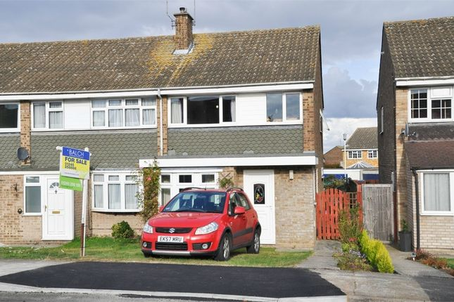 Thumbnail End terrace house for sale in Firecrest Road, Chelmsford, Essex