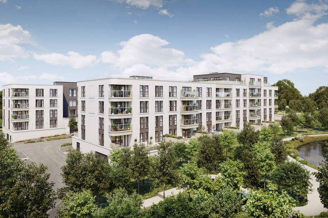 "2 bed flat for sale in ""West Village"" at Chieftain Road, Longcross, Chertsey KT16"