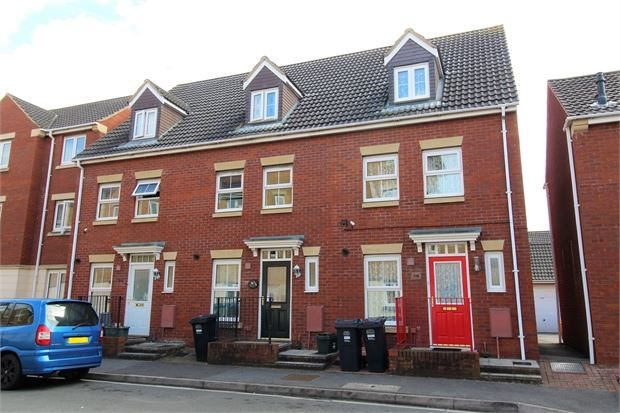 Thumbnail Terraced house for sale in Macfarlane Chase, Weston-Super-Mare, North Somerset.