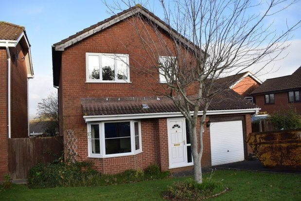 Thumbnail Detached house to rent in Heol Morlais, Llanelli