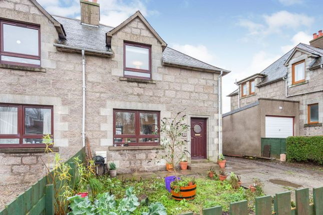 Thumbnail Semi-detached house for sale in Allan Place, Inverurie