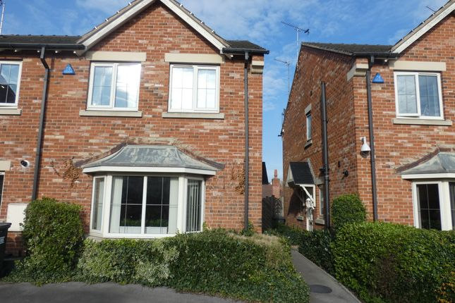 3 bed town house for sale in Honeysuckle Close, Bessacarr, Doncaster DN4