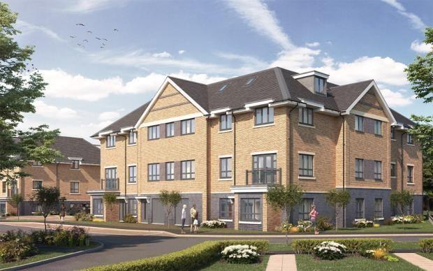 Thumbnail Flat for sale in Howlands, Welwyn Garden City