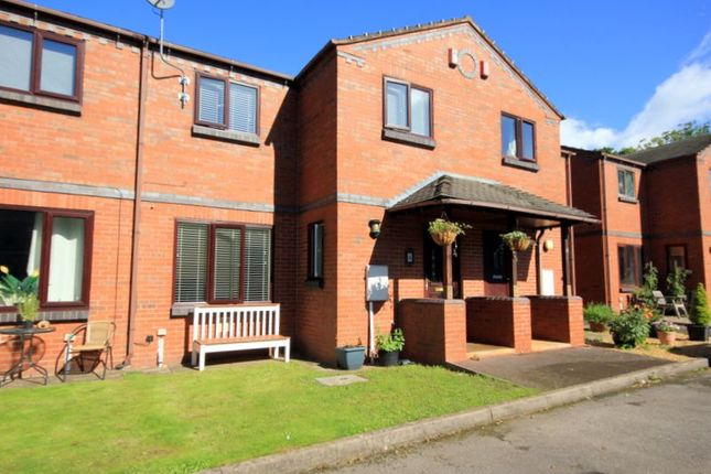Thumbnail Terraced house for sale in The Canal Mews, Trentham, Stoke-On-Trent