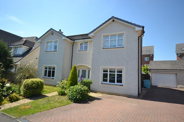 Thumbnail Detached house for sale in Hopepark Drive, Cumbernauld