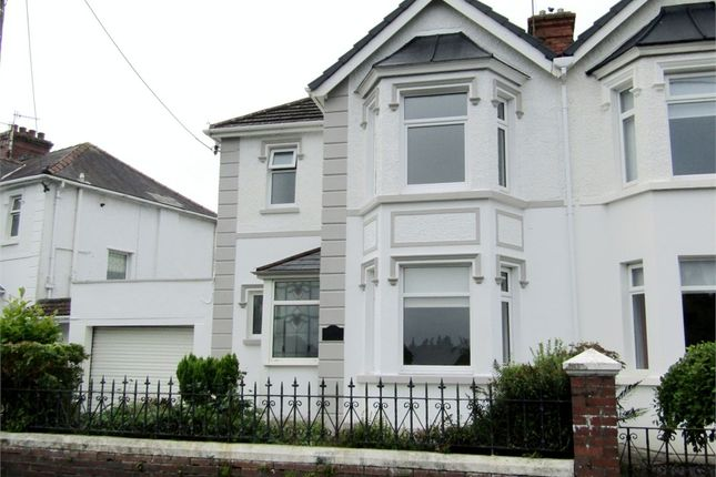 Thumbnail Semi-detached house for sale in Havard Road, Llanelli, Carmarthenshire