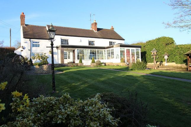 Thumbnail Cottage for sale in Cresswell Road, Hilderstone, Staffordshire