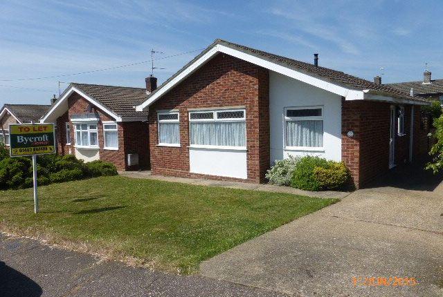 Thumbnail Detached bungalow to rent in Worlingham Way, Lowestoft