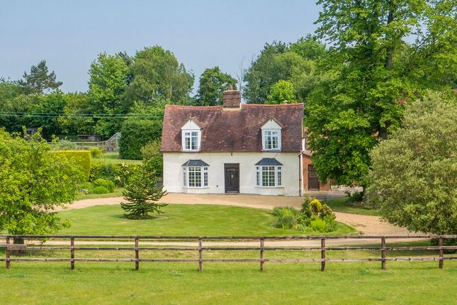 Detached house for sale in Church Road, Pinford End, Hawstead, Bury St. Edmunds