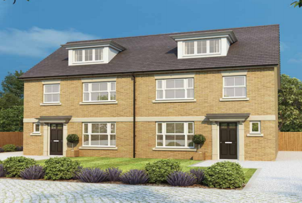 Thumbnail Semi-detached house for sale in Papyrus Villas, Newton Kyme