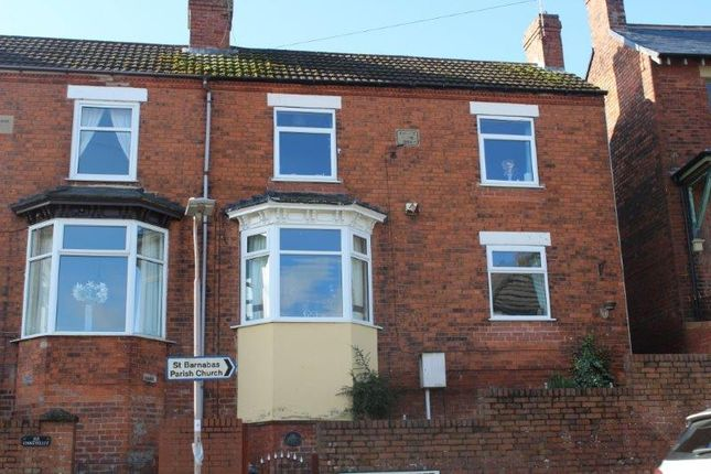 Front of Bagshaw Street, Pleasley, Mansfield NG19