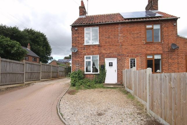 Semi-detached house for sale in Orchard Close, Norwich Road, Fakenham