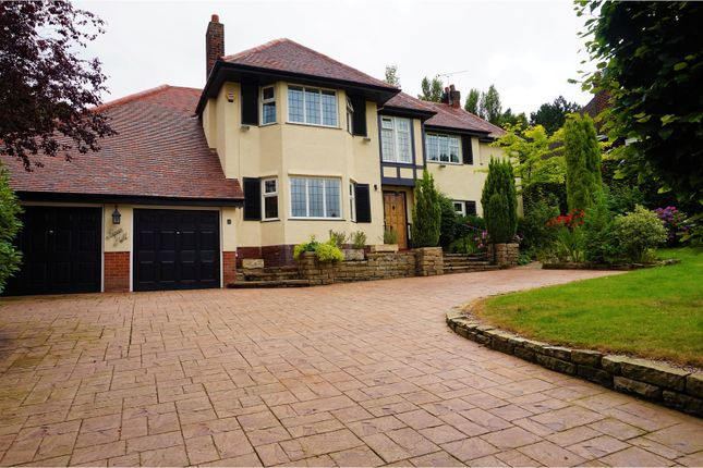 Thumbnail Detached house for sale in Meadow Drive, Prestbury