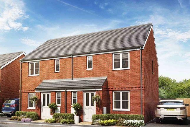 """3 bed semi-detached house for sale in """"The Hanbury"""" at St. Georges Avenue, Havant PO9"""