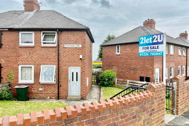 Thumbnail Semi-detached house for sale in California Crescent, Barnsley