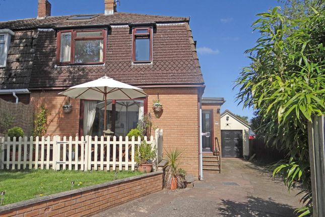 Thumbnail Semi-detached house for sale in Riverside Road, Topsham, Exeter