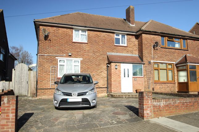 Thumbnail Semi-detached house for sale in Repton Road, Chelsfield