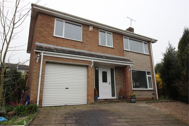 Thumbnail Detached house for sale in Stambers Close, Woodsetts, Worksop, Nottinghamshire