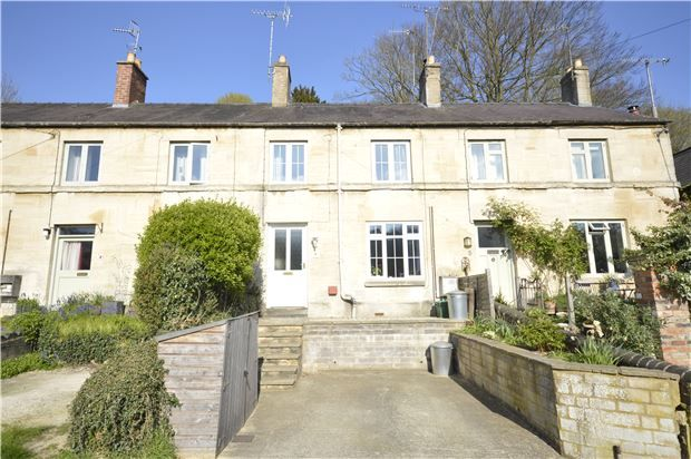Thumbnail Terraced house for sale in Glyn Terrace, Middle Road, Thrupp, Gloucestershire