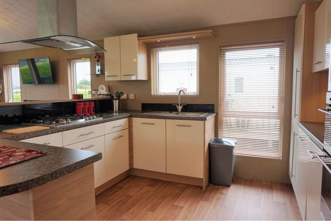 Kitchen of White Acre Holiday Park, Newquay TR8