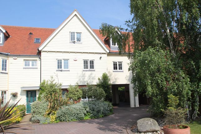 Thumbnail Town house for sale in Winstree Road, Stanway, Colchester