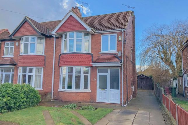 Thumbnail Semi-detached house for sale in West Common Gardens, Scunthorpe