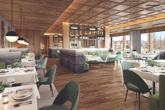 Restaurant CGI of Rhodania Parc, 3963, Crans-Montana, Crans Montana, Valais, Switzerland