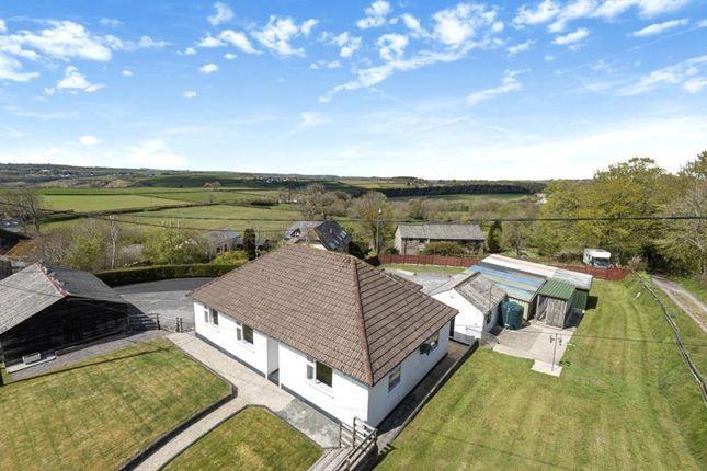 Thumbnail Detached bungalow for sale in Callington